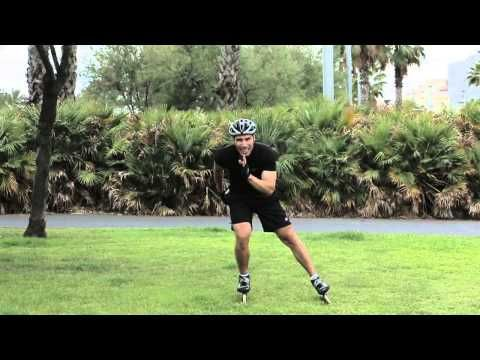 Speed Skating Technique Tips with Jorge Botero #2 - YouTube