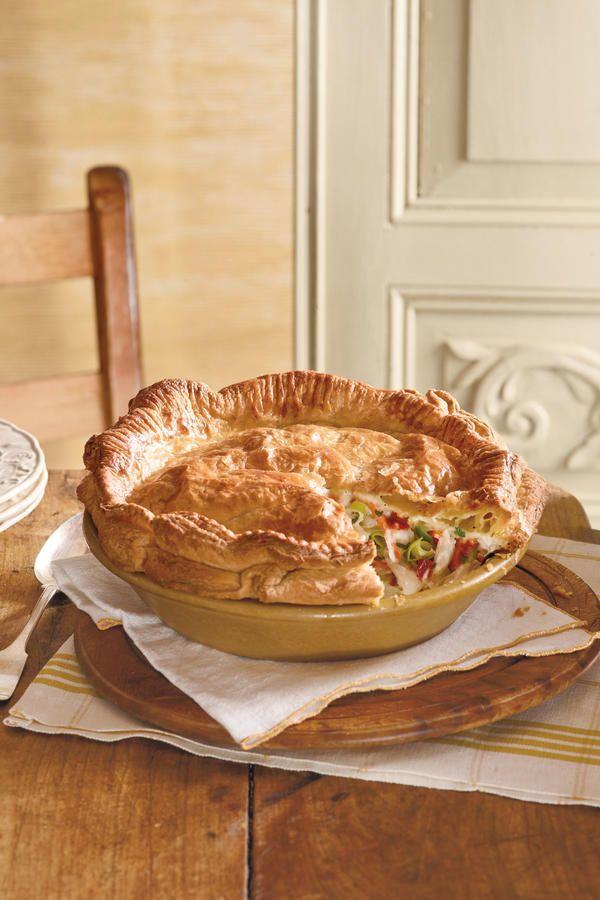 Comfort Food Classics: Double-Crust Chicken Pot Pie