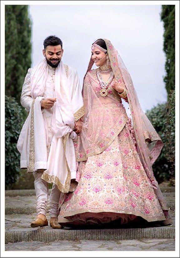 Anushka Sharma Wedding.Anushka Sharma Wedding Lehenga Set Lehenga Choli In 2019 Wedding