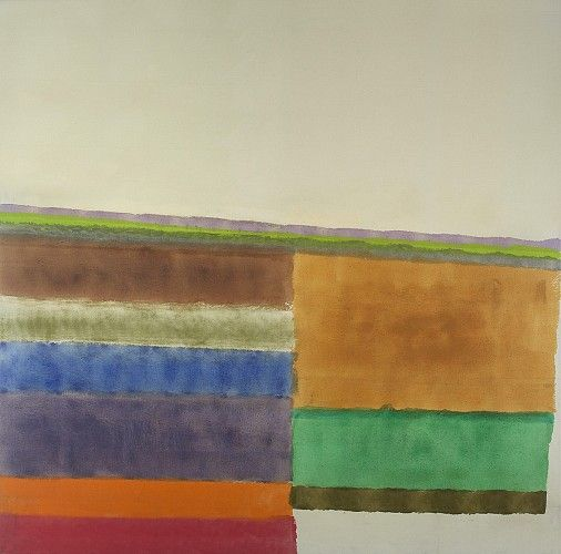 Albert Stadler, Untitled 1964, Acrylic on canvas