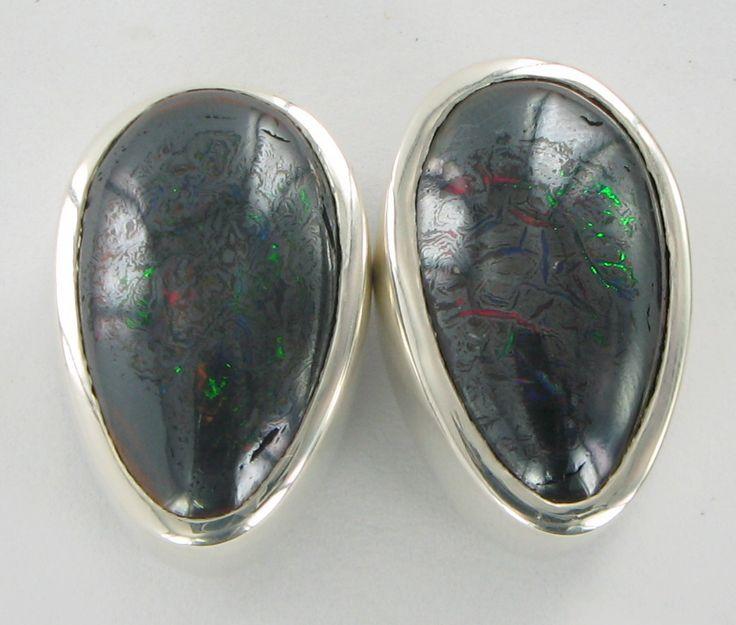 Black Opal Stud commission