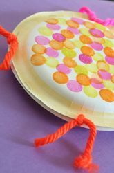 Looking for a noisemaker that's more musical than your typical preschooler's banging and clanging? Try this quick arts and crafts activity that will produce a homemade paper plate tambourine! It's easy to make with supplies you probably have on hand, and it makes a great toy. No wonder it's a classic! What You Need: •2 paper plates •A handful of dried beans •A