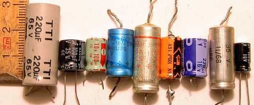 Electrolytic capacitors 2