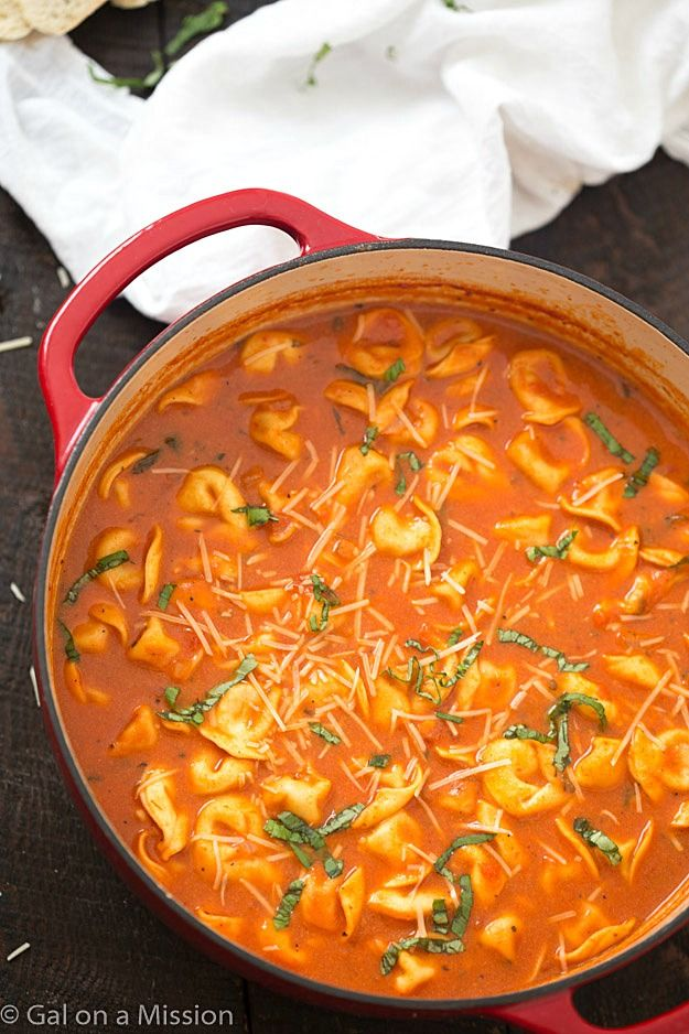 Hearty, comforting, flavorful and a quick weeknight meal! So much easier than soup in the crock-pot!