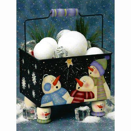 Caja Muñecos de Nieve