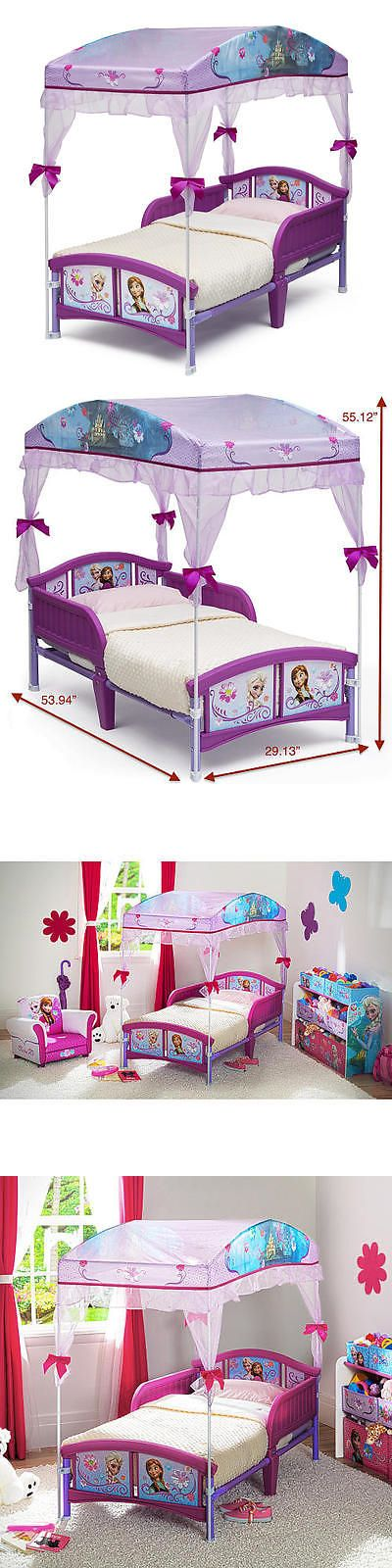 Kids Furniture: New Disney Frozen Canopy Toddler Bed Model:18951329 BUY IT NOW ONLY: $59.99