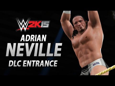 WWE 2K15 DLC: Adrian Neville's New DLC Entrance!