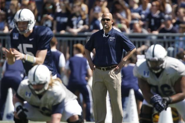 PENN STATE – James Franklin is losing sleep in the summer so he doesn't have to in the fall. USA Today's Paul Myerberg reports that after a tedious day in the office, Franklin meshes two couches together in the facility and doses off. Hard work like this usually pays off, as it will in James Franklin's case.