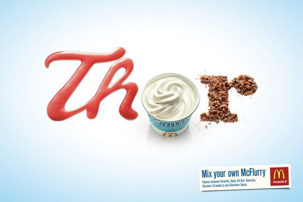 typographic ads - Google Search