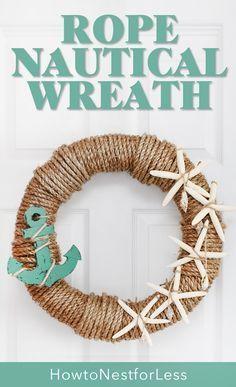 rope nautical wreath
