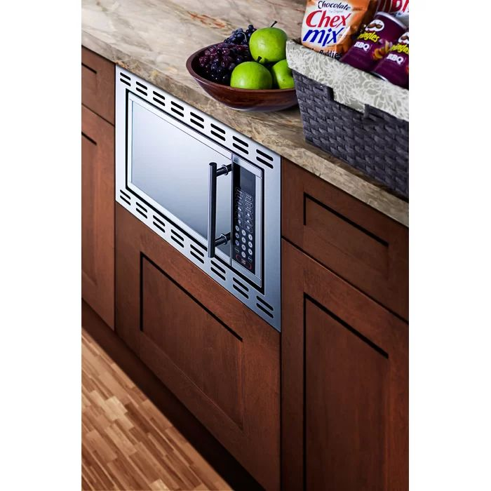 """22"""" 0.9 cu.ft. Built-In Microwave with 4.38 inch Trim 