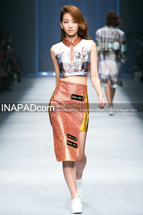 S=YZ SS Seoul Fashion Week 2014