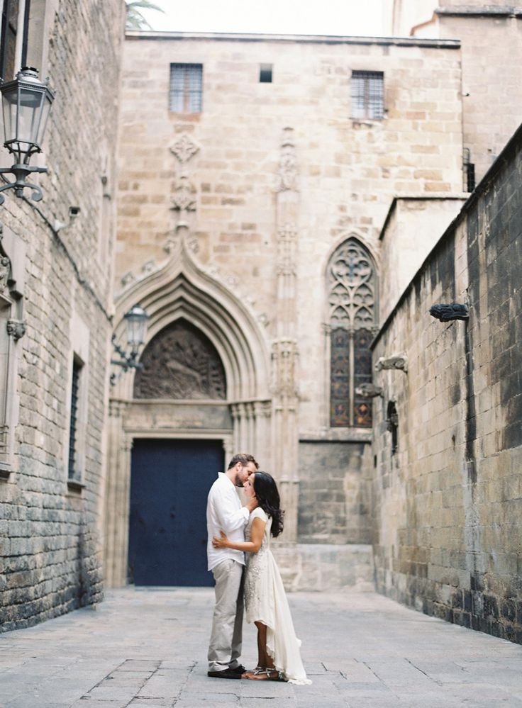 Barcelona Engagement Session: Photo Bryce Covey and styling Joy Thigpen