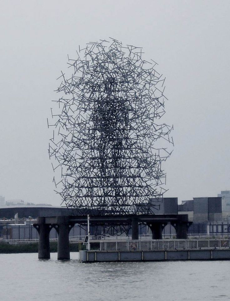 Antony Gormley, Quantum Cloud