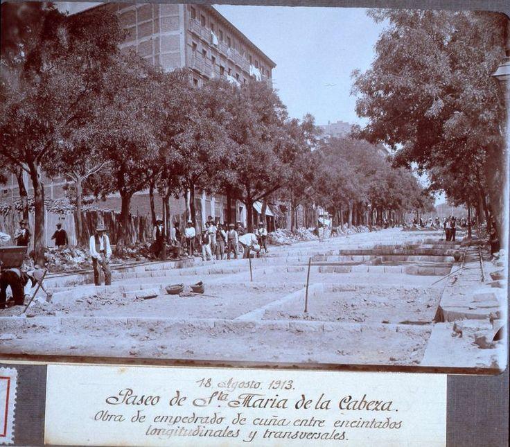 Paseo de Santa Maria de la Cabeza 1913