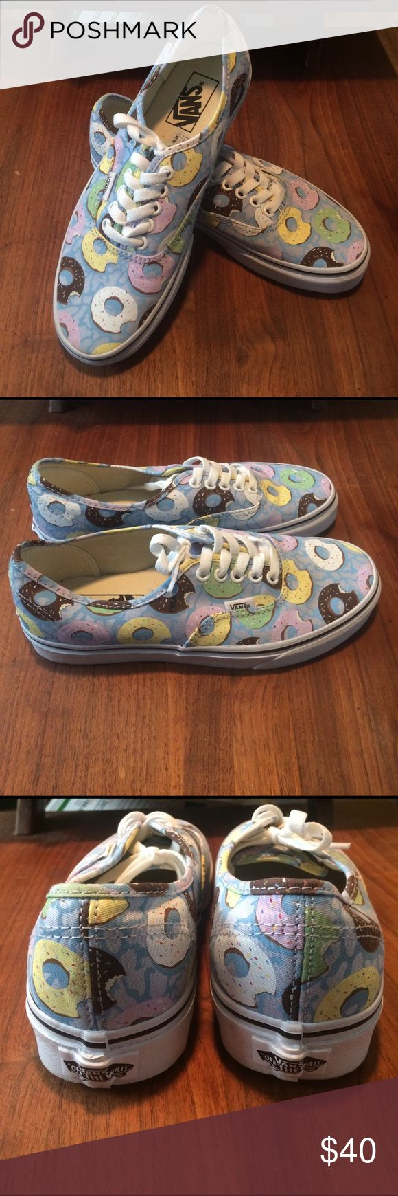 Vans yummy donut shoes! New! 🍩🍩 Brand new Women's size 8. Vans Shoes Sneakers