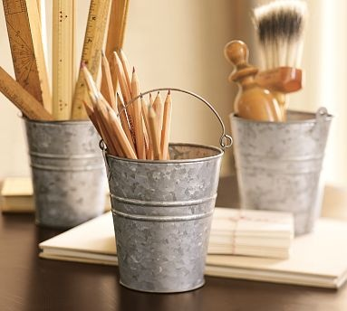 don't buy these at PB. but love them holding pencils & stuff. Maybe for my home office? HOME OFFICE!!!