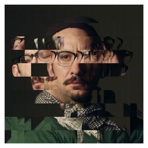 Daniel Crooks, Portrait #23 (self), 2012 Lambda photographic print 130 x 130 cm. Courtesy of Anna Schwartz
