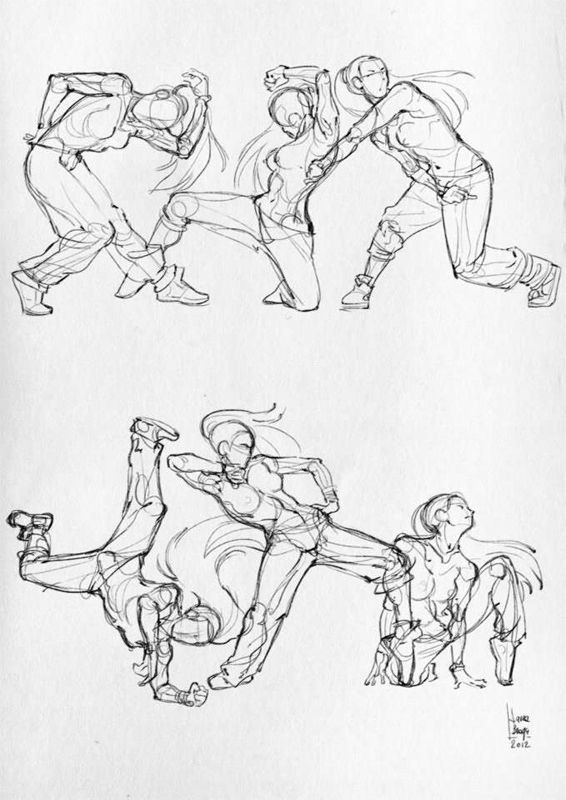 Some anatomical studies - (Sport) on Wacom Gallery