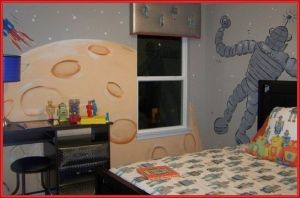 nice Space Room Decor for Kids