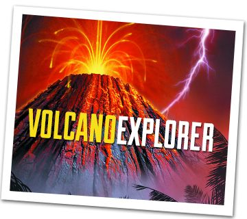 Volcano Explorer Interactive Game From Discovery Kids