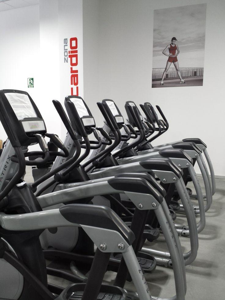 Zona de entrenamiento cardiovascular AltaFit Lugo