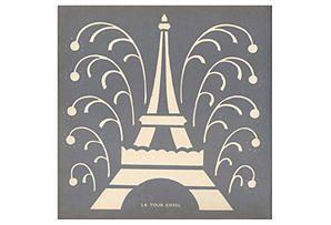 One Kings Lane - Shop the Show: HGTV Star - La Tour Eiffel Framed Print