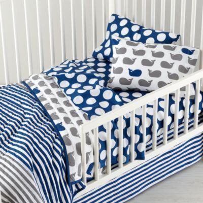 New School Toddler Bedding (Make A Splash) | The Land Of Nod, New