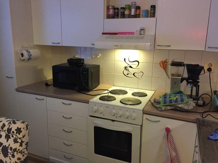 Fix the kitchen with #dc-fix  Keittiöremppa #dc-fix:llä