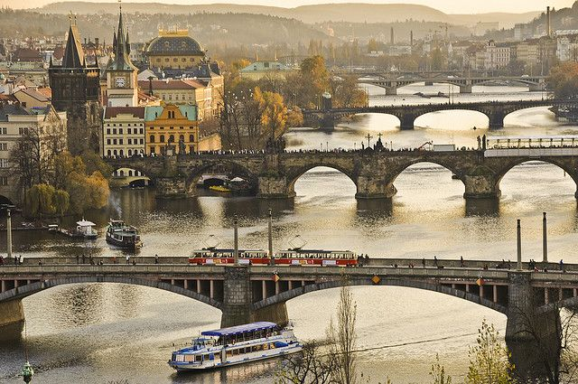 Czech Republic / Prague - The bridges by Manu Foissotte