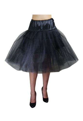 A petticoat to make all those full skirts so much more dramatic. Available in Black and White, sizes 6-28. $29.95: Full Skirts, Organza Petticoats, Black Organza, Black Petticoats, Plus Size,  Crinolin, Hoopskirt, Tulle Petticoats, Petticoats Skirts