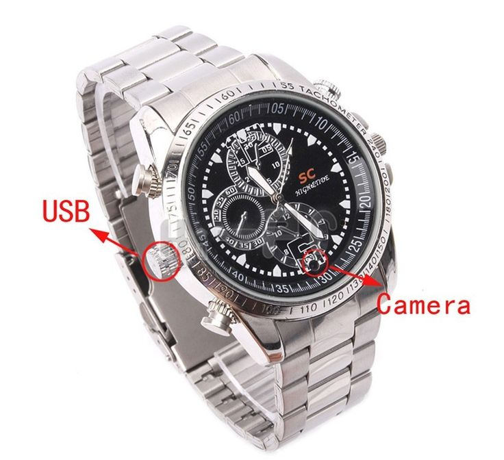 Hidden Spy Camera Watch - WHAT IS THE BEST HIDDEN CAMERA FOR YOUR HOME OR BUSINESS? CLICK HERE TO FIND OUT... http://www.spygearco.com/hidden-camera-AllInOne.php