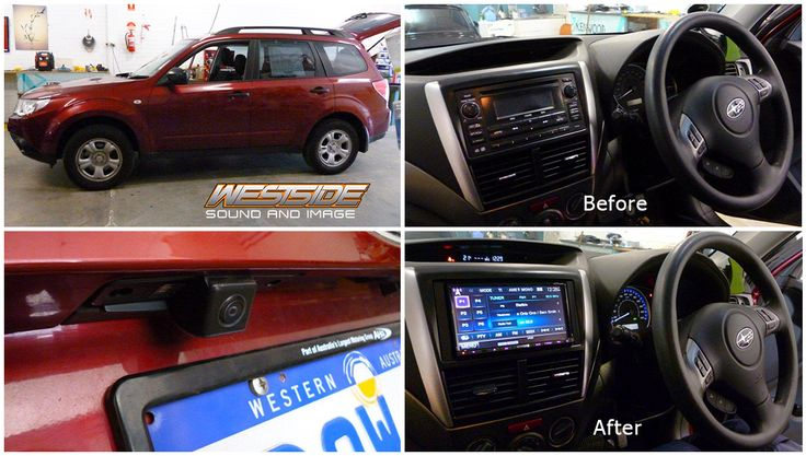 """Another one upgraded! This #Subaru Forester received a #Kenwood DDX7035BT 7"""" DVD/USB/BT Mirror-Link multimedia unit, an OEM style reverse camera, and an interface to maintain steering wheel music control. Another great job done by our Morley store!  Product details here: http://ow.ly/Dr2gS"""