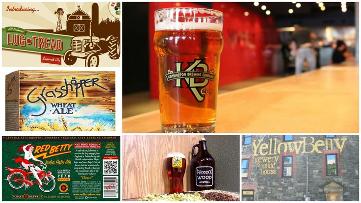 Best craft and local breweries in Canada