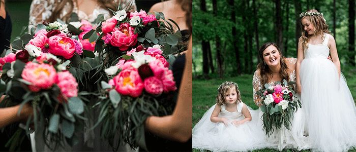 So pumped this is on Emily Holmes Blog! Peonies, anemones, Center Hill lake wedding. And the beautiful Remmington Gown by Hayley Paige