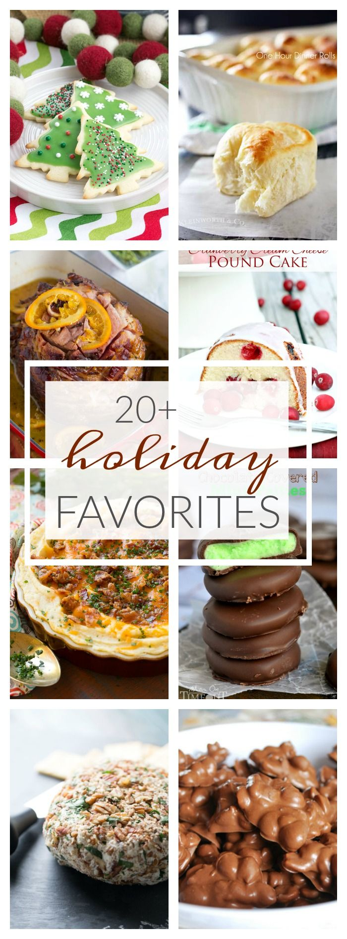 Looking to plan out your holiday menu? Then you don't want to miss this list of 20+ Favorite Holiday Recipes from top food bloggers! via @KleinworthCo