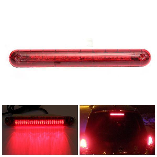 Universal Car SUV Auto 12V 24 Red LED High Mount Third 3RD Brake Tail Light Lamp