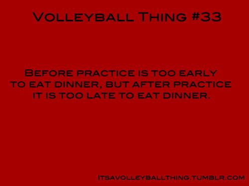 It's a Volleyball Thing #33. Oh my word this is what drive me crazy last year!