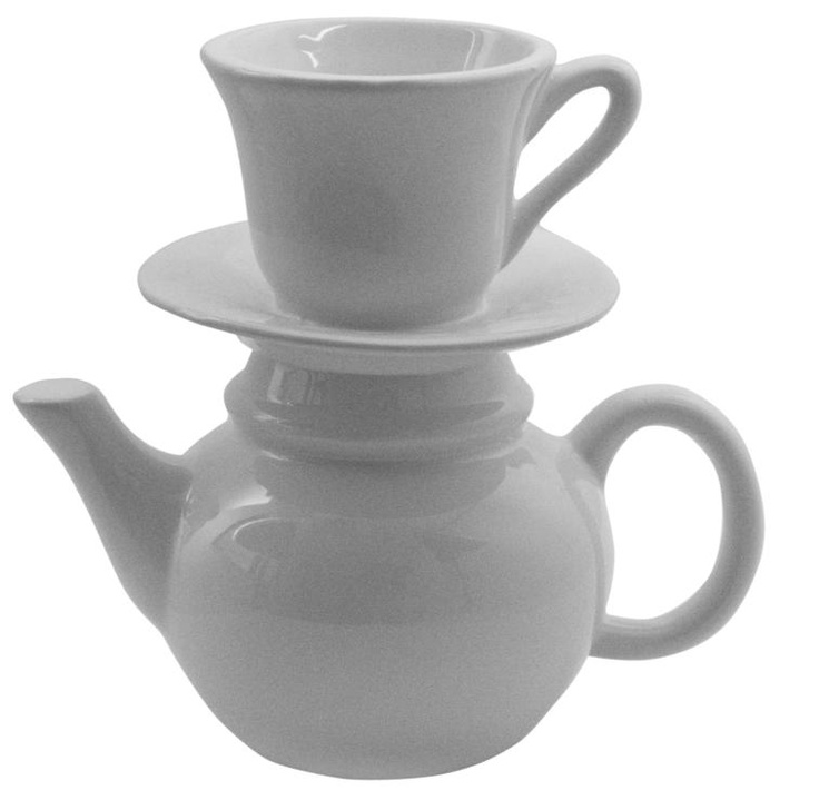 Cup and Saucer Vase, Size 18cm