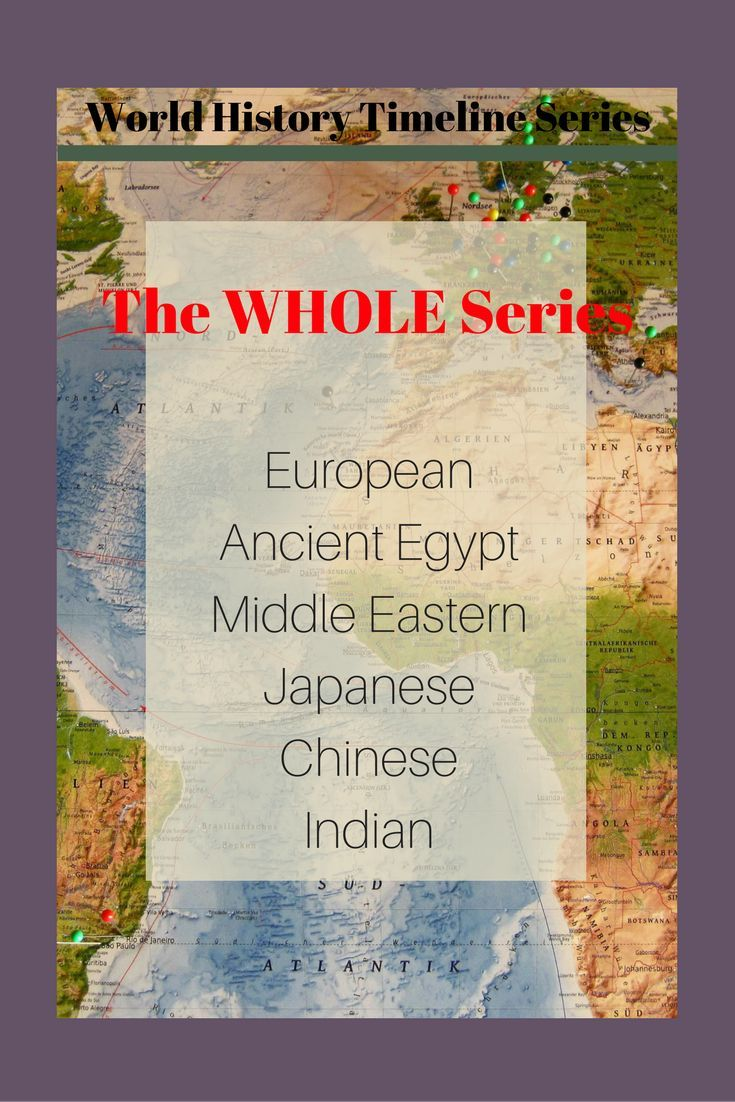 TpT social studies teachers can now get the entire world history timeline series in one bundle! Featuring all six timelines that can be featured in world history, US history, European history, or Asian history classes.