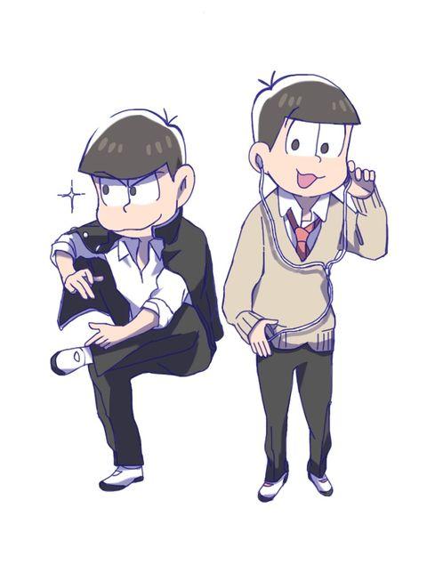 Osomatsu-san Karamatsu + Todomatsu