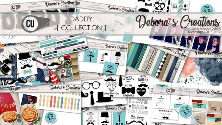 Daddy Collection by Debora's Creations CU