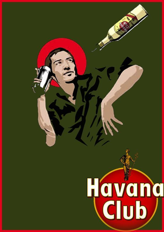 vintage havana club advertising - Google zoeken