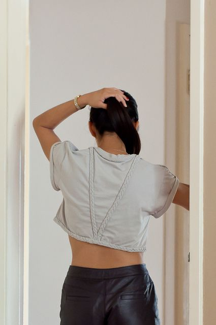 DIY Braided Crop Top by Le.Fanciulle, via Flickr