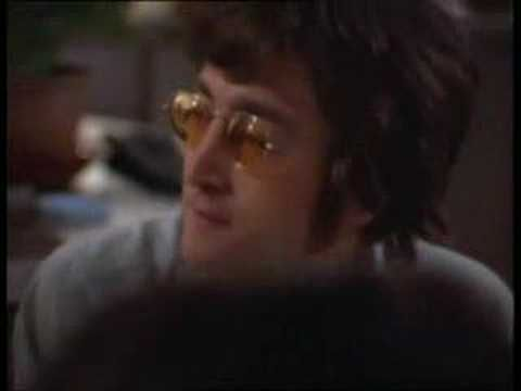 "This is  a segment from the film ""Gimme Some Truth"", which was a documentary about the making of John Lennon's Imagine album in 1971. This segment starts out with the recording of the song ""Oh My Love'.  The part that I want to highlight and call your attention to starts at 4:45 -- the scene changes to the kitchen, where John and Yoko and George have the following discussion: George: Do you ever see much of the Beatles these days? /  John: The Beatles? Um … no, I did see Beatle Ed though…"