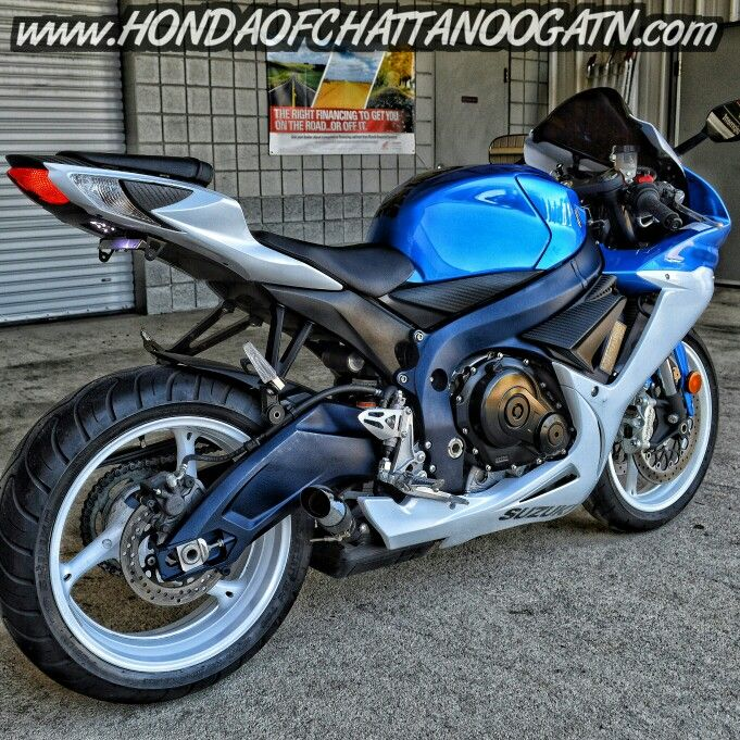 Used 2012 GSXR 600 For Sale - Chattanooga TN area Pre Owned Motorcycles at Honda of Chattanooga. Visit our website for more information www.HondaofChattanoogaTN.com
