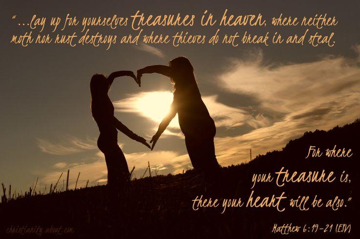 Verse of the Day: Treasures in Heaven - Matthew 6:19–21