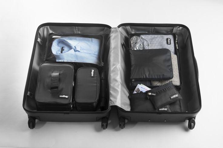Gamme Jet - voyage par Compactor. Trousses et housses de rangement de voyage.