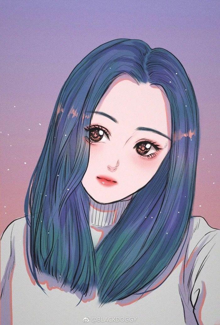 Pin Oleh Hamy2803 Di Hinh Vẽ Ilustrasi Ilustrasi Karakter Gambar Anime