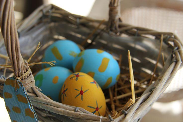 Lovely #hand-painted #easter eggs! #pasqua